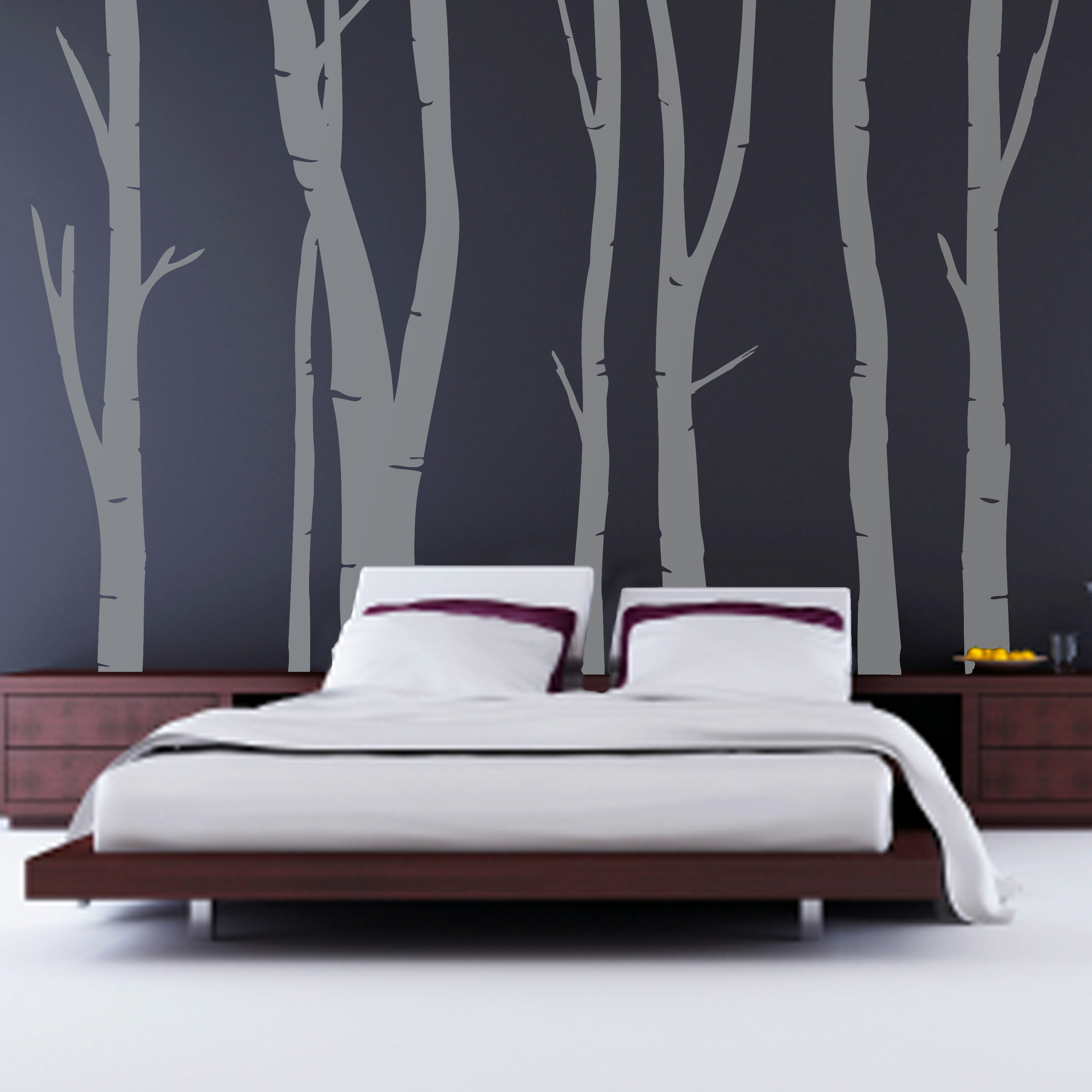 Modern bedroom birchforest bedroom walljpg modern bedroom room ...